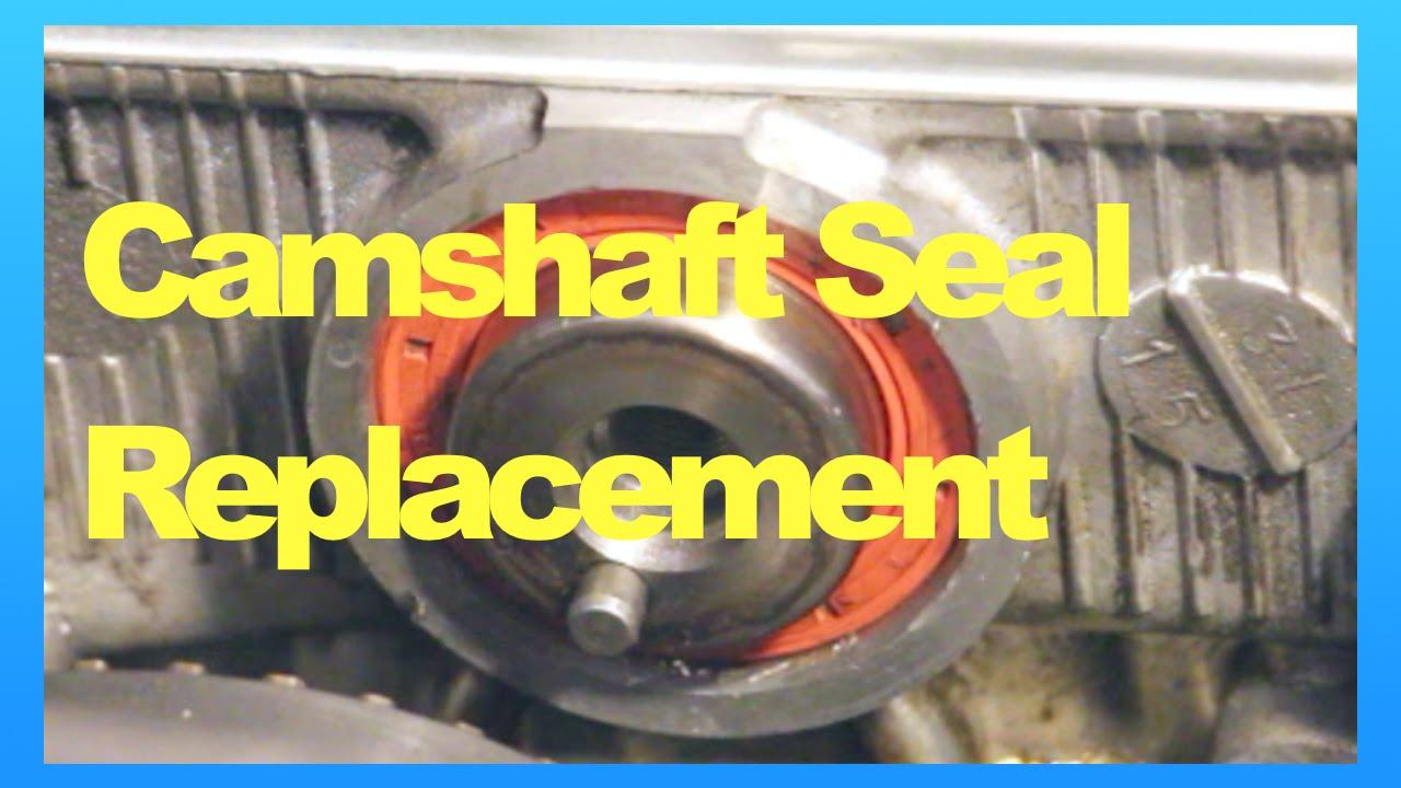 Mitsubishi Lancer Fix  Camshaft Oil Seal Replacement