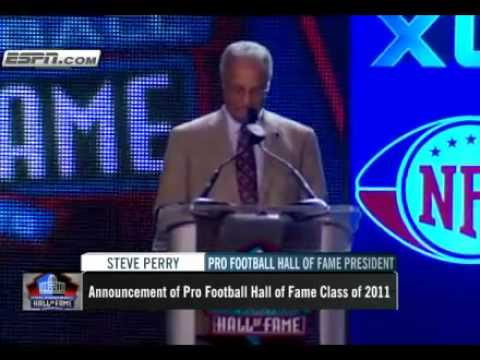 2011 NFL Hall Of Fame Class Annouced