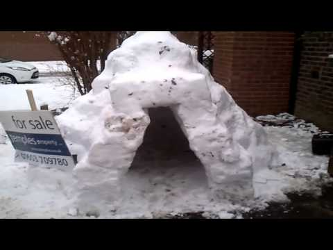HOW TO BUILD AN IGLOO IN UK