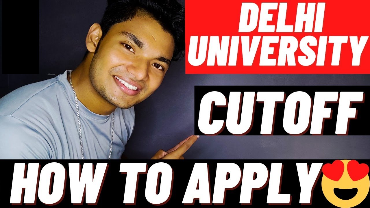 Download DU Admission 2021 Update:- Cutoff Schedule And How To Apply 😍
