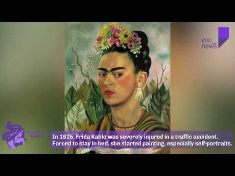 Frida Kahlo, one of the world's most famous painters