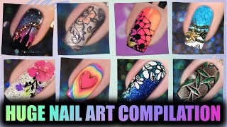 HUGE NAIL ART COMPILATION v 2 | Awesome nail art ideas - URBANNAILART