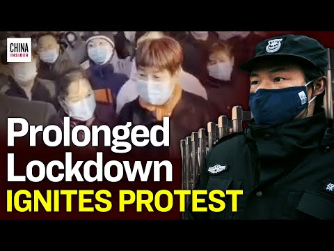 Thousands Protest Long Term Lockdown in China's Virus Hotspot | Epoch News | China Insider