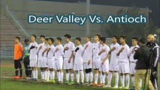 deer valley high shool vs antioch high school var