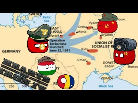 Germany Lost MORE men Than Russia!? - Hoi4 MP In A Nutshell