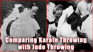 Practical Kata Bunkai: Comparing karate throwing with judo throwing