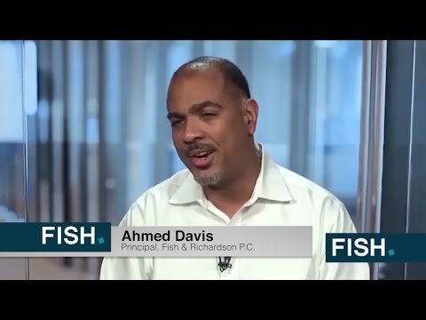 Ahmed Davis Discusses Fish & Richardson's 1L Diversity Fellowship Program