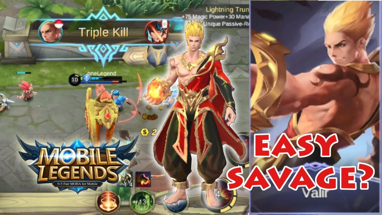🔥Super Saiyan Dari Negara Api🔥 NEW HERO VALIR Mobile Legend
