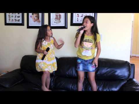 Karaoke Day for Mali and Meilynn :D