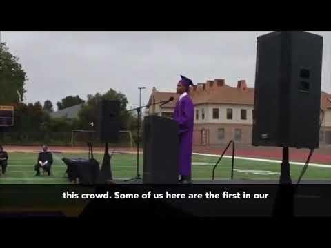 Oakland Technical High School first black valedictorian