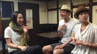 Alive a live vol.2「うどん、なう」の出演者である宮本京佳をインタビ...