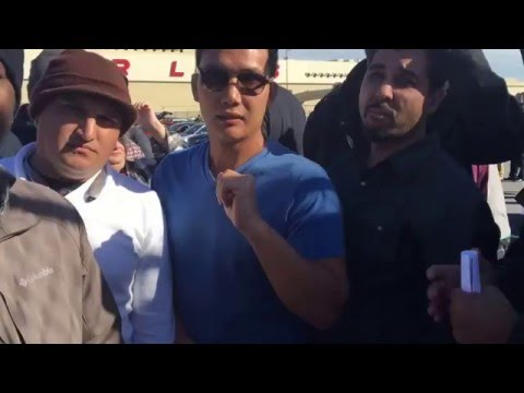 Uber Drivers Protest/Strike At San Francisco International Airport/In Depth Interviews