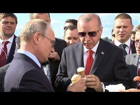 Путин на МАКС-2019