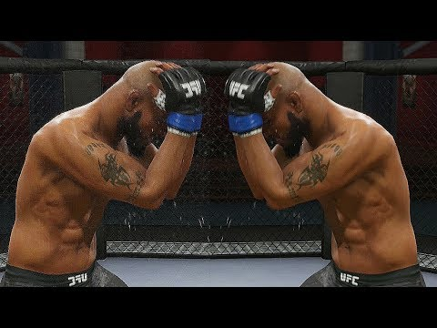 EA UFC 3 - Check Out This New Cool Block Animation!
