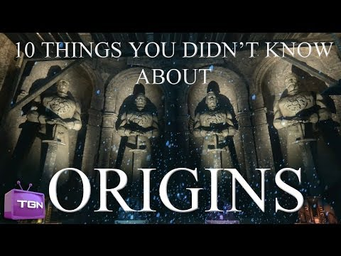 10 THINGS YOU DIDN'T KNOW ABOUT ORIGINS
