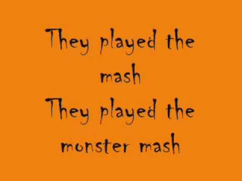 Monster Mash---Bobby Pickett---W/Lyrics!!