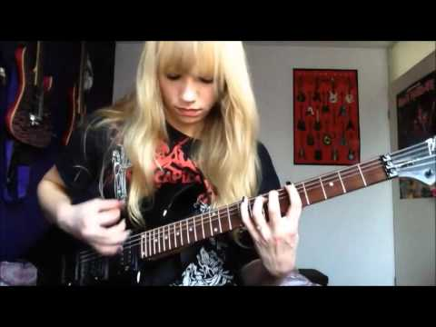 Cattle Decapitation - Mammals In Babylon guitar cover by Simone van Straten