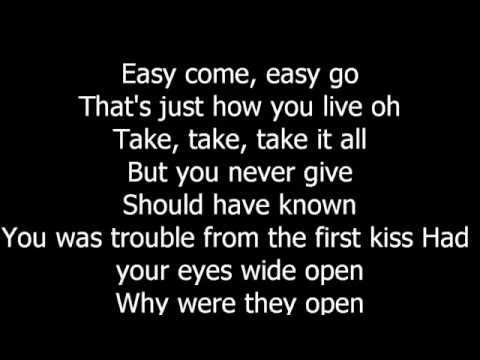 Bruno Mars-Grenade lyrics