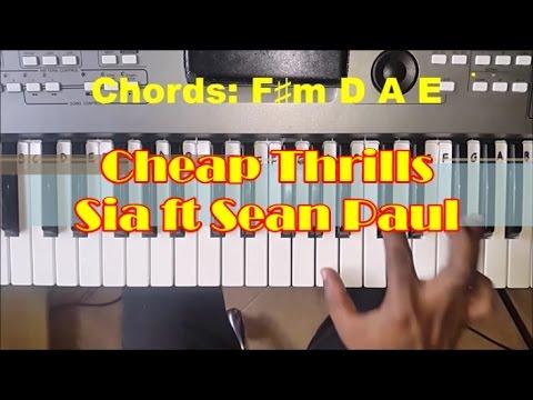 how-to-play-sia-cheap-thrills---chords-&-bass---piano-tutorial---ft.-sean-paul
