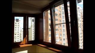Максимус Окна   Пример остекления угловой лоджии ламинированными пластиковыми окнами Рехау под дерев(Максимус окна - Делайте с нами, делайте как мы, делайте лучше нас! Мы делаем хорошо и дешево, но ВАМ! никто..., 2016-02-08T03:00:49.000Z)