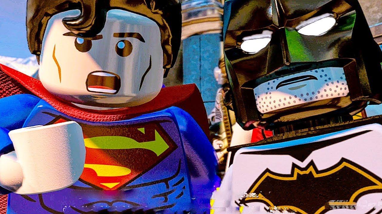 LEGO DC SUPER VILLAINS All Cutscenes Full Movie