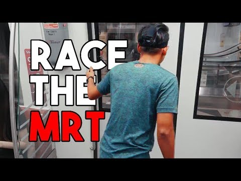 Singaporean Man Races The MRT?! | TSL Vlogs