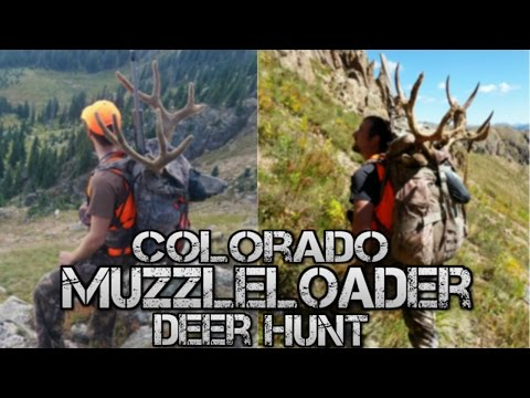 Backcountry Colorado Muzzleloader Deer Hunt -