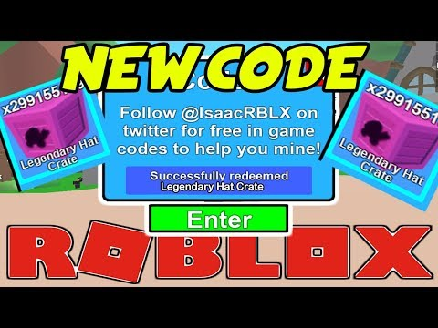 Codes For Mining Simulator On Roblox 2018 New Legendary Crate Code Roblox Mining Simulator June 2018 2