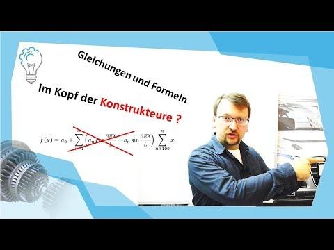 Welche Formeln muss ein Konstrukteur im Kopf haben?