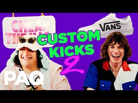 Sneaker Customisation Challenge feat. Tabasko Sweet    PAQ Ep #23   A Show About Streetwear