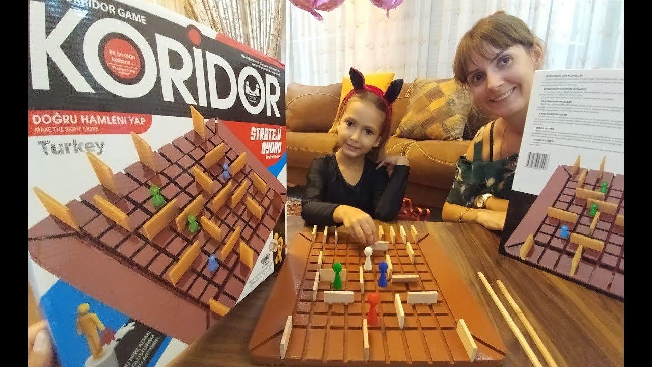 Redka Koridor oyuncak kutusu açtık, mantık zeka geliştirici strateji oyunu