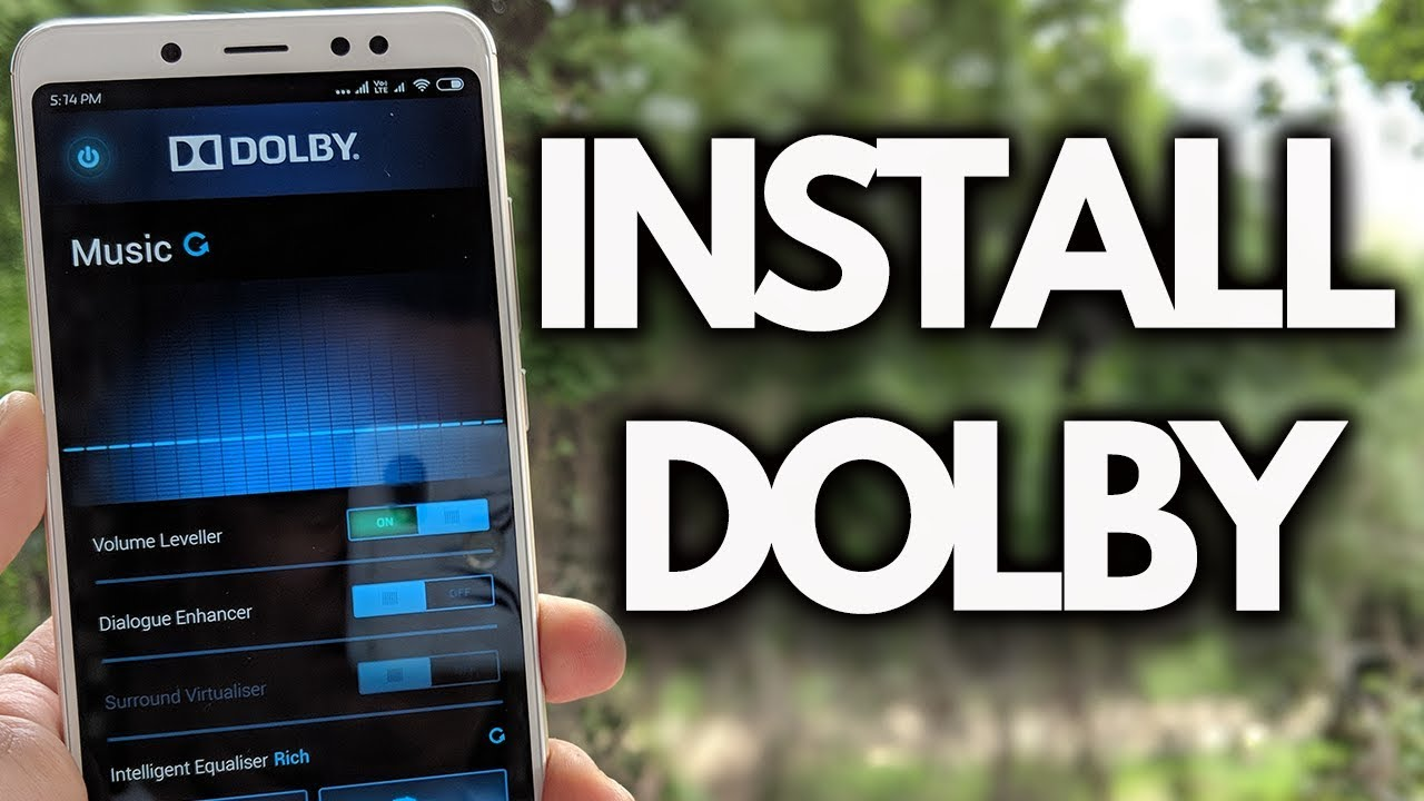INSTALL DOLBY ON REDMI NOTE 5 PRO