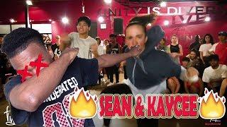 """SEAN LEW & KAYCEE RICE """"PLAIN JANE"""" - NICKI MINAJ FT. A$AP FERG  // KC REACT"""