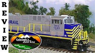 Intermountain Citirail ES44AC GEVO  HO Scale Locomotive Review