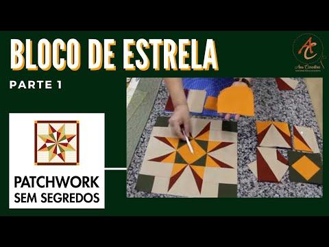 Patchwork sem Segredos com Ana Cosentino: Aula 01