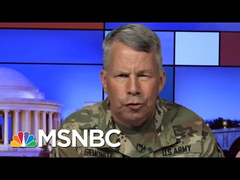 Army Corps Of Engineers Adapts To Demands COVID-19 Puts On States | Rachel Maddow | MSNBC