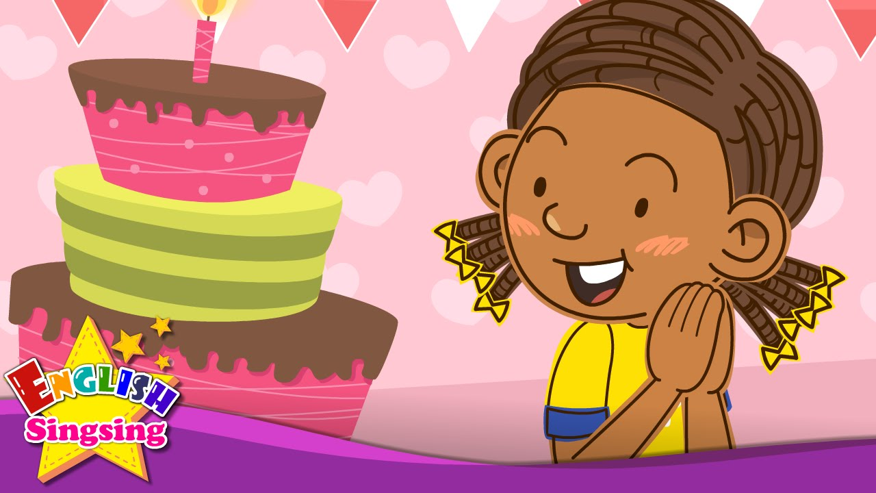 Happy birthday! This is for you  (Birthday song) - Education Rap for Kids -  English song with lyrics
