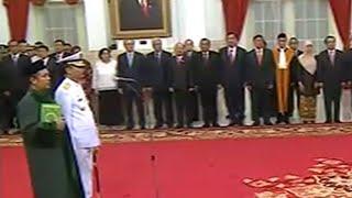 FULL - Jokowi Lantik Kepala Staf Angkatan Laut yang Baru