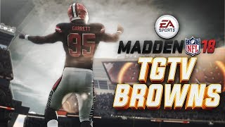 Madden NFL 18 Browns Connected Franchise Ep. 1 - Believeland