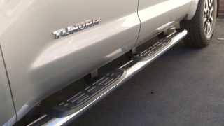 Chrome Side Step Bars & Running Boards for Toyota Trucks, Calgary