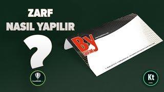 CorelDraw Zarf #1 - Matbaaya Uygun - CorelDRAW X7 - KT