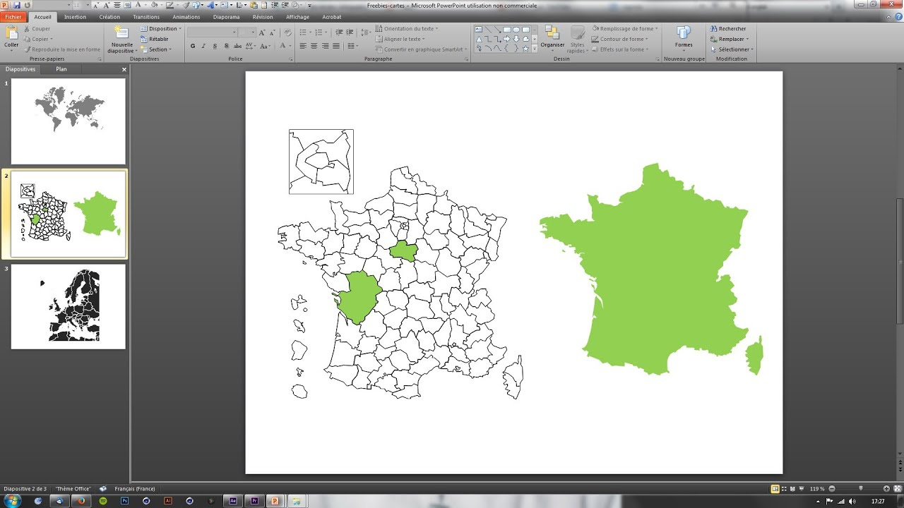 Freebies : Cartes personnalisables sous PowerPoint   YouTube