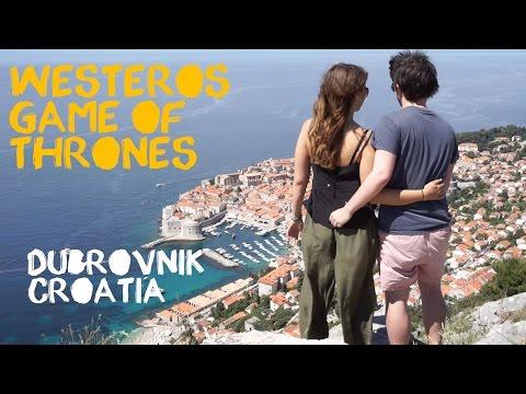 Dubrovnik Croatia - Kings Landing Game of Thrones - Europe Road Trip and Travel Vlog