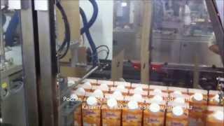 Автоматическая линия для групповой упаковки пакетов Пюр-Пак модели CK25-WR (Упаковка молока 1 литр)(http://www.liad-eng.ru/ Компания LIAD ENGINEERING, Израиль, занимает лидирующие позиции среди разработчиков и производителей..., 2013-07-18T13:01:41.000Z)