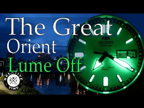 The Great Orient Lume Off!  Ray, Kamasu, Mako USA, And Triton Face Off!