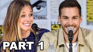 Supergirl Panel Comic Con 2017 Part 1