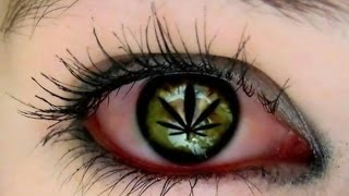 Por que se ponen los ojos rojos al consumir marihuana