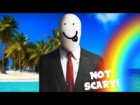 How to make Slender Man Not Scary!