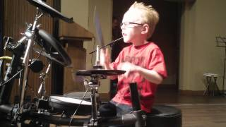 jaxon smith rush yyz live performance 6 yr old self taught drummer
