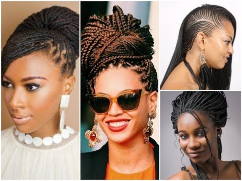 30 Fashion Braid Hairstyles For Black Women Youtube